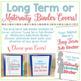Long Term Sub Binder (Maternity Leave) Planner & Short Term Substitute Bundle