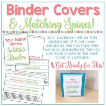 Long Term Sub Binder (Maternity Leave) Binder & Short Term Substitute Bundle