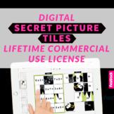 Digital Secret Picture Tiles Commercial License