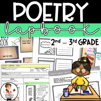 {50% OFF 48 HRS} Poetry Lap Book