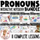 Pronouns Interactive Notebook Unit