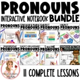 Pronouns Interactive Notebook and Activities Bundle
