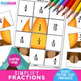Simplify Fractions Worksheets | Secret Pictures
