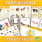 Farm Animals Literacy Packet