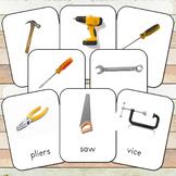 Montessori Tools Toob 3 Part Cards