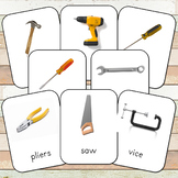 Montessori Tools Toob 3 Part Cards