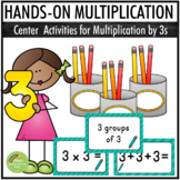Multiplication By 3s - Center Activities