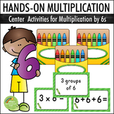 Multiplication By 6s - Center Activities