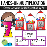 Multiplication By 7s - Center Activities