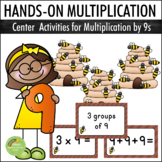 Multiplication By 9s - Center Activities