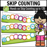 Skip Counting Activity Centers - Caterpillar Theme