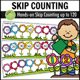 Skip Counting Activity Centers - Flower Theme