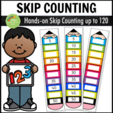 Skip Counting Activity Centers - Pencil Theme