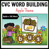 Sunflower Theme CVC Word Building Pack