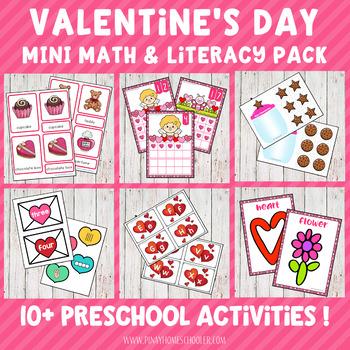 Valentine's Day Preschool Mini Unit