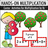 Multiplication By 8s - Center Activities