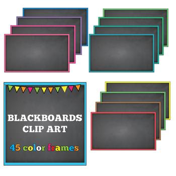 45 Chalkboard Frames, Blackboard Frames