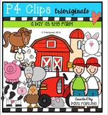 A Day at the Farm (P4 Clips Trioriginals Digital Clip Art)