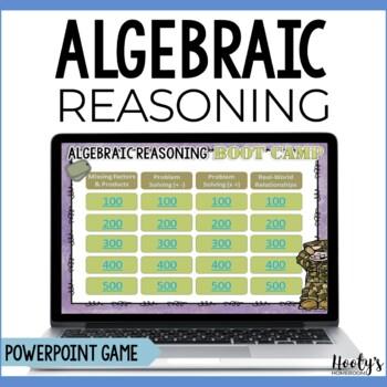 Algebraic Reasoning Test Prep Game