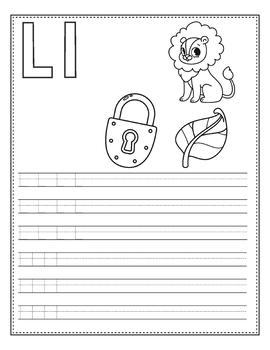 Alphabet Directed Drawing Alphabet