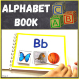 Alphabet Matching Activity, Alphabet Book