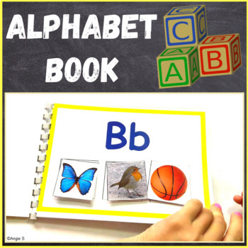 Alphabet Matching Activity, Alphabet Book