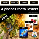 Alphabet Posters: Healthy Foods with Real-Life Photos (A to Z)