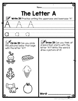 alphabet worksheets write circle draw abc letter writing practice. Black Bedroom Furniture Sets. Home Design Ideas