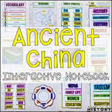 Ancient China Interactive Notebook and Graphic Organizers Ancient World History