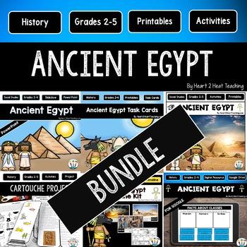 Ancient Egypt Bundle for Google Drive, Activity Pack, PPT & Craft