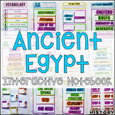 Ancient Egypt Interactive Notebook and Graphic Organizers Ancient World History