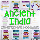 Ancient India Interactive Notebook Graphic Organizers Ancient World History