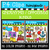 Antonyms / Opposites BUNDLE (P4 Clips Trioriginals Digital Clip Art)