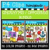 Antonyms / Opposites BUNDLE (P4 Clips Trioriginals Digital
