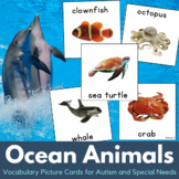 Ocean Animals Autism Communication Cards