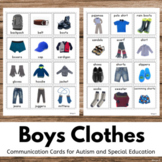 Clothing Unit, Boys Clothes Flashcards