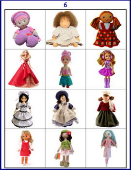 Autism Matching File Folders- Toys