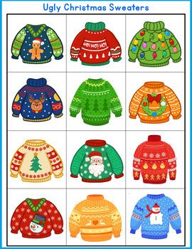 Autism Matching File Folders-Winter