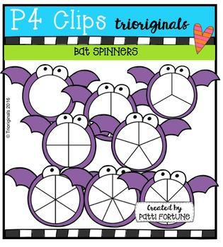 Bat Spinners (P4 Clips Trioriginals Digital Clip Art)