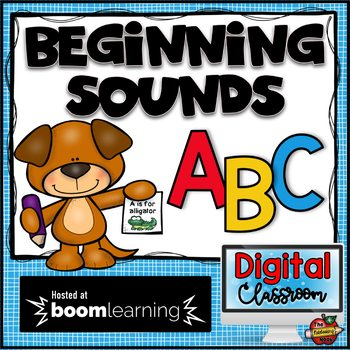 Beginning Sounds Digital Boom Cards