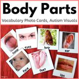 Body Parts Cards for Autism, Autism Visuals