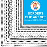 Borders Clip Art Set 3