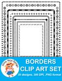 Borders Clip Art Set 1