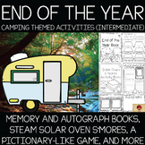 Camping Theme Memory Books and End of the Year Activities {Intermediate}