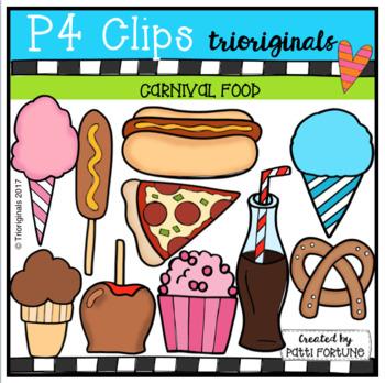 Carnival Food (P4 Clips Trioriginals Clip Art)