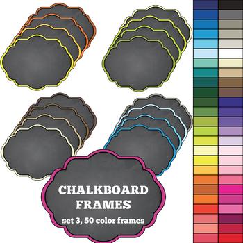 Chalkboard Frames set 3