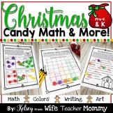 Christmas Gumdrop Math Activities & More for Kindergarten