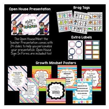 Classroom Decor Pack #15: Everything You Need to Set up Your Classroom