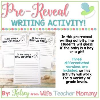 Classroom Gender Reveal Activity, Baby gender prediction