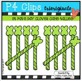 Clover Cane Tallies (P4 Clips Trioriginals Clip Art)
